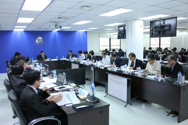 15 พฤศจิกายน 2561 ประชุมคณะอนุกรรมการกลั่นกรองการบริหารจัดการทรัพยากรน้ำ