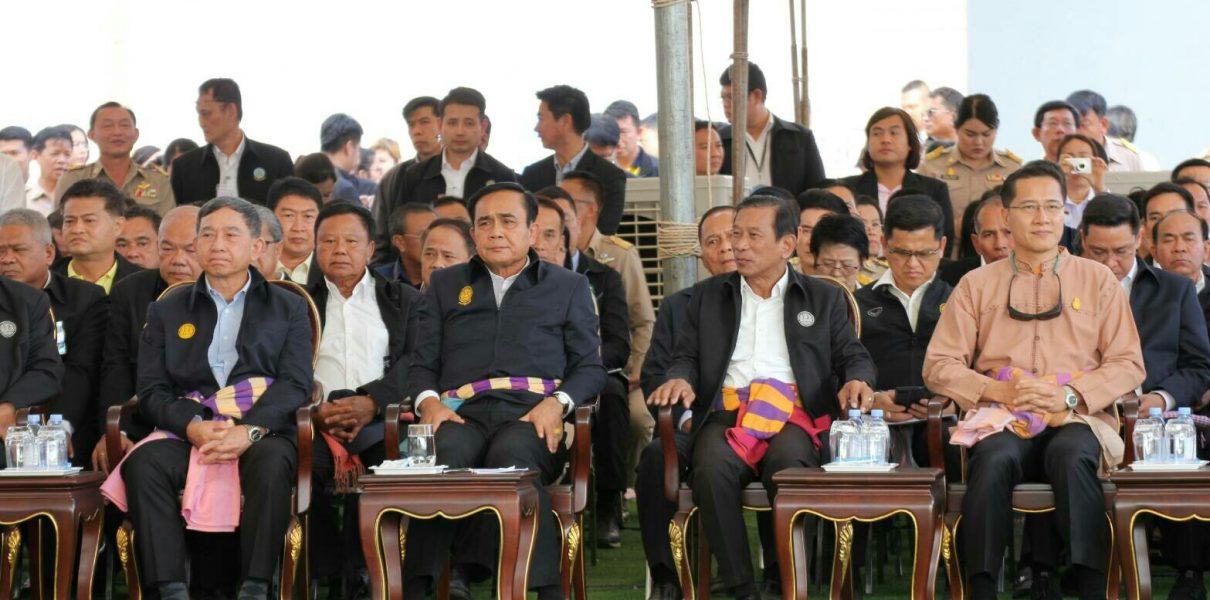 นายสมเกียรติ ประจำวงษ์ เลขาธิการสำนักงานทรัพยากรน้ำแห่งชาติ ลงพื้นที่ติดตาม พลเอก ประยุทธ์ จันทร์โอชา นายกรัฐมนตรีและคณะ ในพื้นที่กลุ่มจังหวัดภาคอีสานตอนบน 1 ระหว่างวันที่ 12 – 13 ธันวาคม 2561